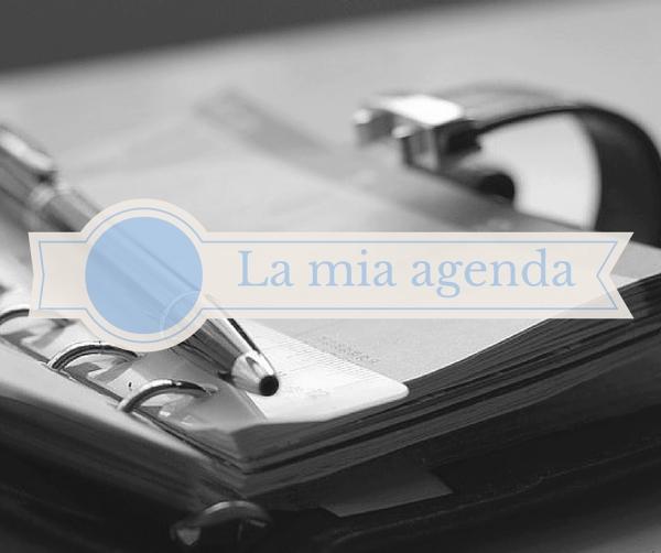 La mia agenda(2)