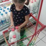fare la spesa insieme ai bambini
