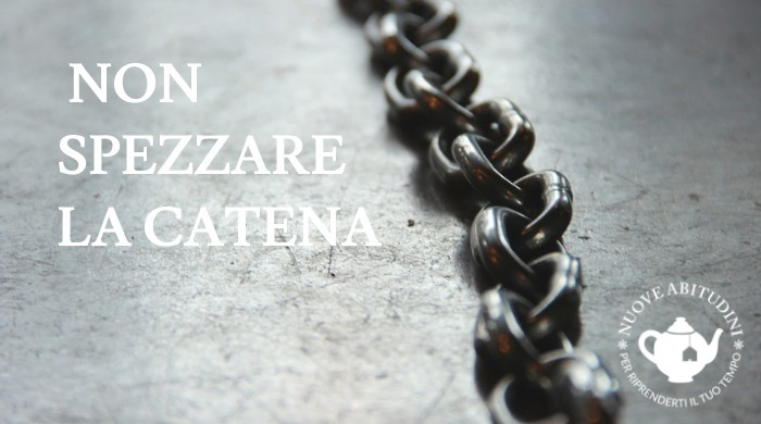 non spezzare la catena