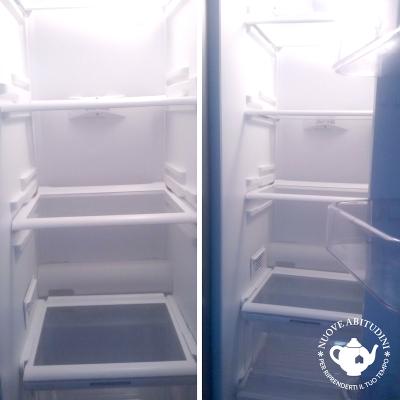 pulire il frigorifero