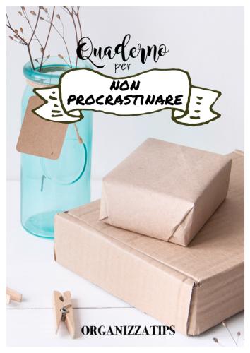 quaderno organizzatips