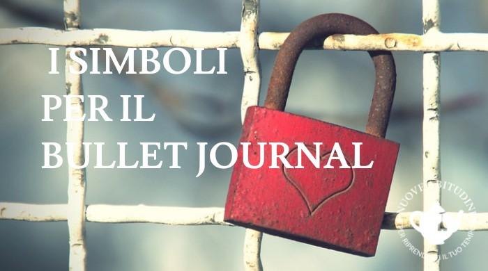 simboli bullet journal