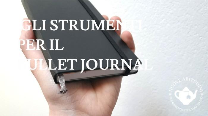 strumenti bullet journal