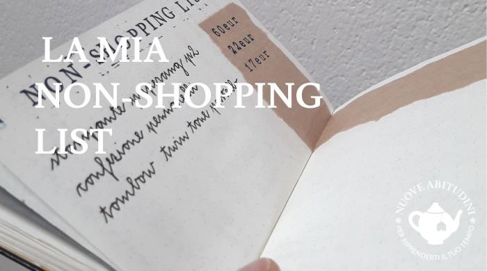 non shopping list