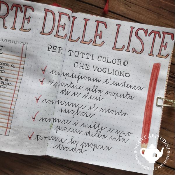 l'arte delle liste(2)